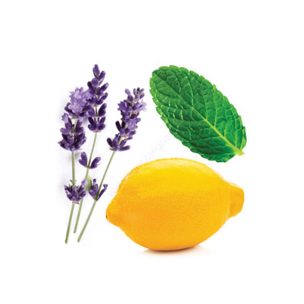 citrom menta levendula